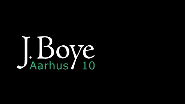 Aarhus 2010 &#8211; A Recap of the J.Boye Conference